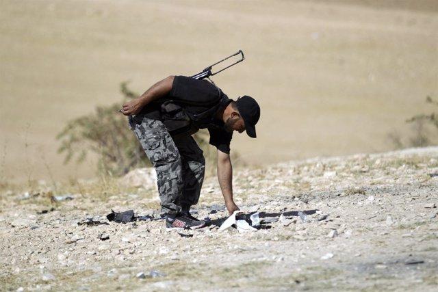 Miliciano de Ahrar al Sham