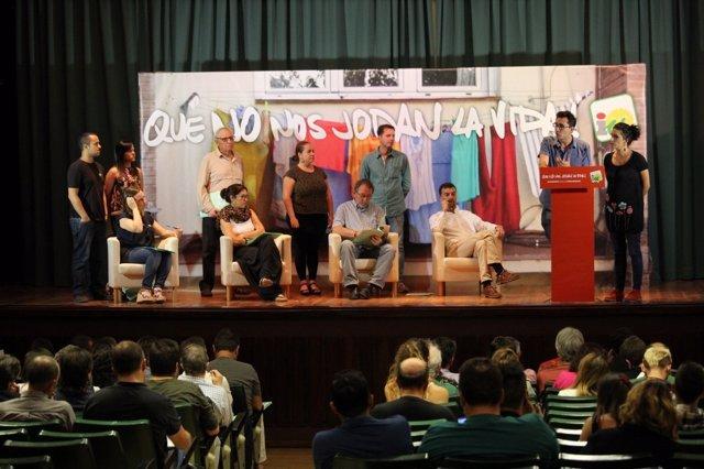 Jornada para la elaboración de documentos para la asamblea de IU Andalucía