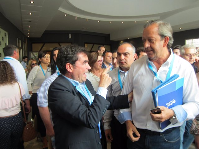 Moreno tras abandonar el plenario