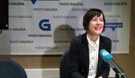 """Ana Pontón (BNG), a Beiras: """"Algunos se confunden de enemigo en demasiadas ocasiones"""""""