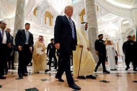 """Salman y Trump amenazan con castigar a Irán por """"facilitar el terrorismo global"""" y los """"crímenes"""" de Al Assad"""