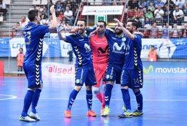 Movistar Inter y Magna Gurpea completan los semifinalistas