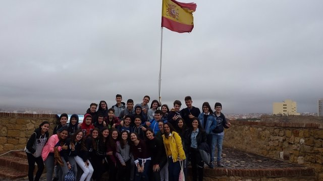 Visita de alumnos de Melilla al Centro de Historia y Cultura Militar