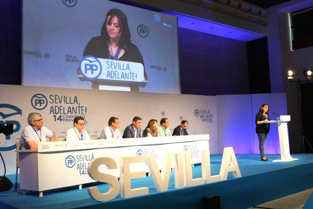 Virginia Pérez, nueva presidenta del PP de Sevilla
