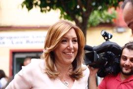 Susana Díaz gana las primarias en Triana cuadriplicando los apoyos de Pedro Sánchez