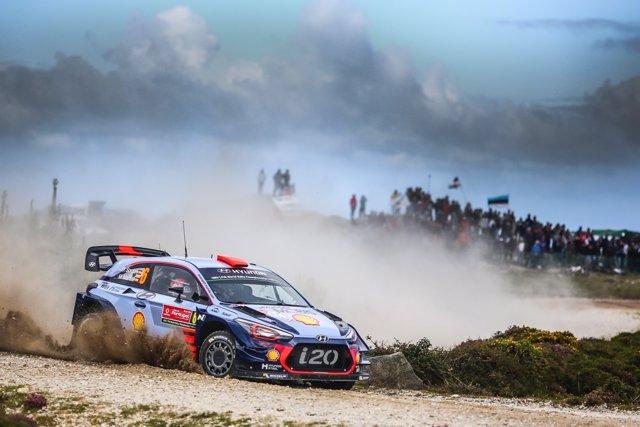Sordo acaba tercero en el Rally de Portugal con victoria del francés Ogier