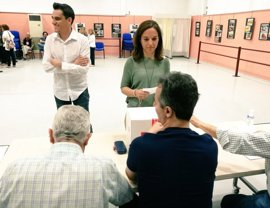"""Sara Hernández felicita a Sánchez por su """"contundente"""" victoria y le pide """"unidad y lealtad"""" para fortalecer el PSOE"""