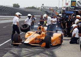 Fernando Alonso, quinto en la parrilla de las 500 millas de Indianápolis