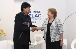 Bolivia asegura que Morales está dispuesto a hablar con Bachelet en Ecuador