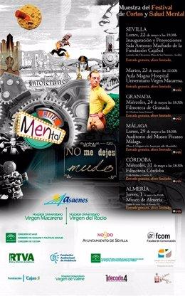 La Muestra Festival de Cortos y Salud Mental recorrerá Andalucía