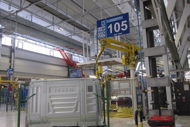 Valladolid. Fábrica de Iveco en Valladolid