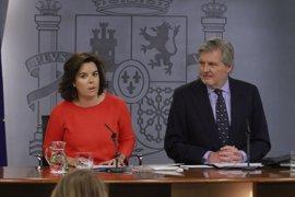 """El Gobierno insiste en que Puigdemont debería ir al Congreso en vez de """"amenazar"""" con lo que hará si no hay referéndum"""