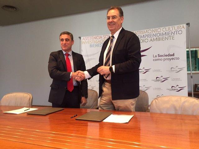 Burgos: Barbero (I) Y Benavente (D)