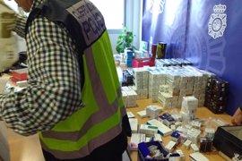 Detenidas 5 personas en Murcia y Alicante por producir y distribuir productos dopantes
