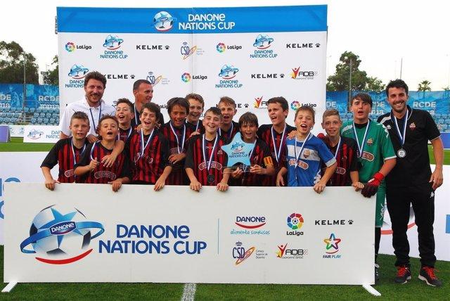 El Reus Deportiu CF se proclamó campeón de la Fase Catalana de la Danone Nations