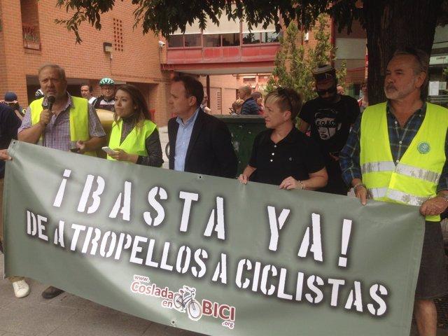 Np Gran Concentración Ciclista En Coslada Contra Los Atropellos
