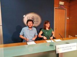 Podemos felicita a Sánchez y Armengol e insiste en la moción de censura para sacar del gobierno al PP