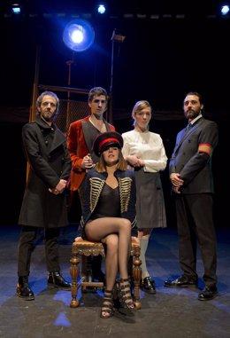 Integrantes de Inextremis Teatro.