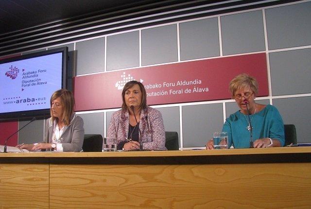 La diputada foral de Servicios Sociales, Marian Olabarrieta