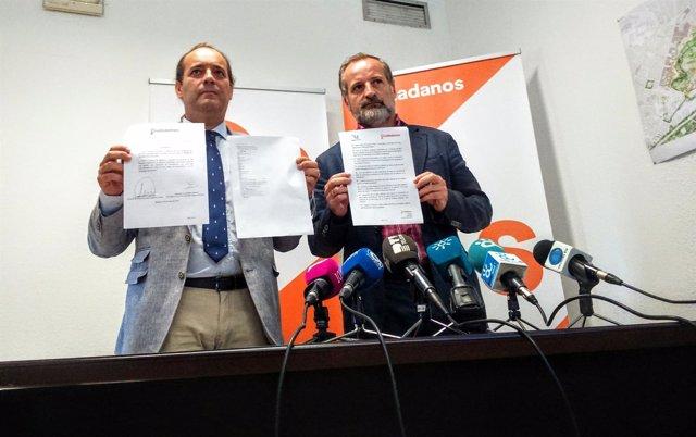 Juan Cassá y Gonzalo Sichar de Ciudadanos