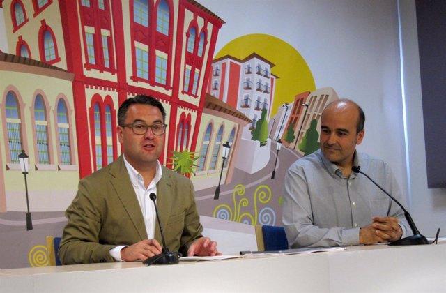 Merino y Martínez, en la presentación de la Memoria