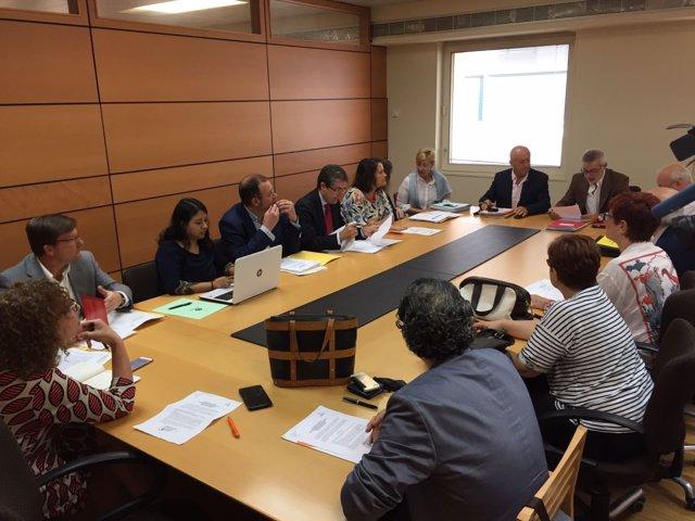 Comisión de Pleno de Infraestructuras, Hacienda y Asuntos Generales