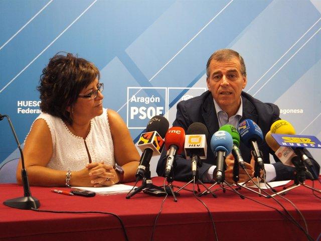 Elisa Sancho y Antonio Cosculluela