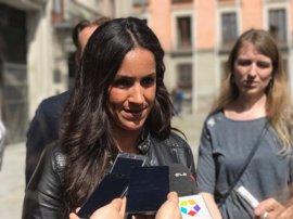 "Cs critica que Puigdemont acuda a Cibeles a ""sermonear"" sobre las ""leyendas urbanas del independentismo"""
