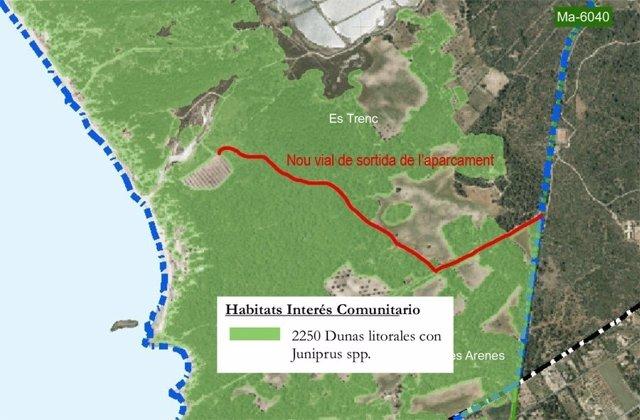 Proyecto de parque natural de Es Trenc