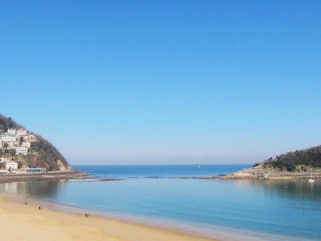 Playa de Ondarreta.