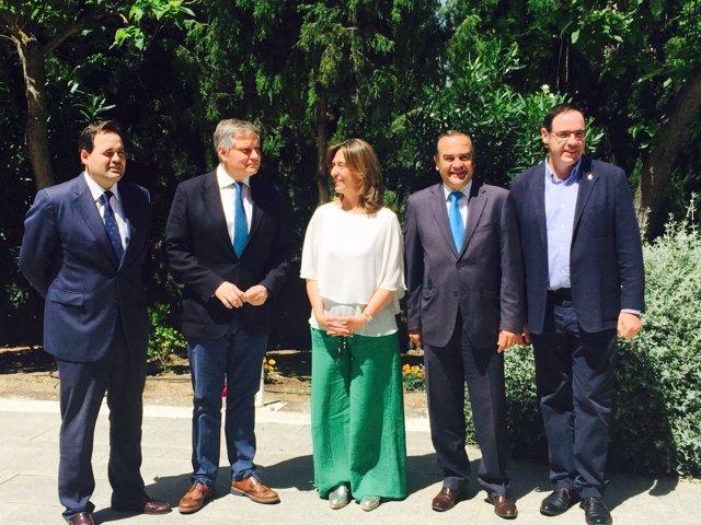 Los presidentes provinciales del PP