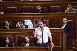 El Congreso tramita mañana la moción de censura de Podemos y abre plazo por si hay otros candidatos