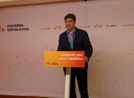 ERC avisa de que buscarán mecanismos legales para el referéndum si no se pacta