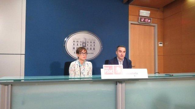 Pons y Obrador en rueda de prensa