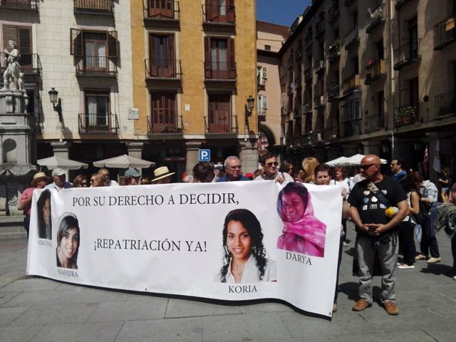 Concentración en Madrid.