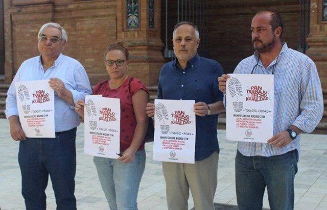 Plataforma de Marcha de la Dignidad en Andalucía