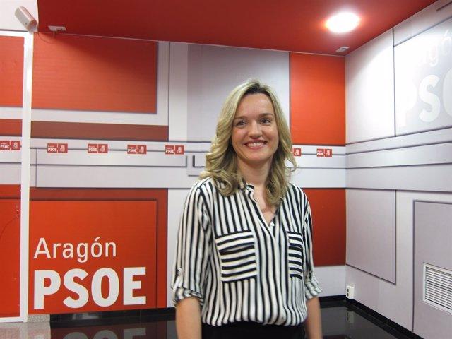 La secretaria de Organización del PSOE-Aragón, Pilar Alegría