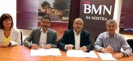 BMN-Sa Nostra acuerda dar apoyo financiero a las Asociaciones Empresariales de la madera y del metal de Baleares