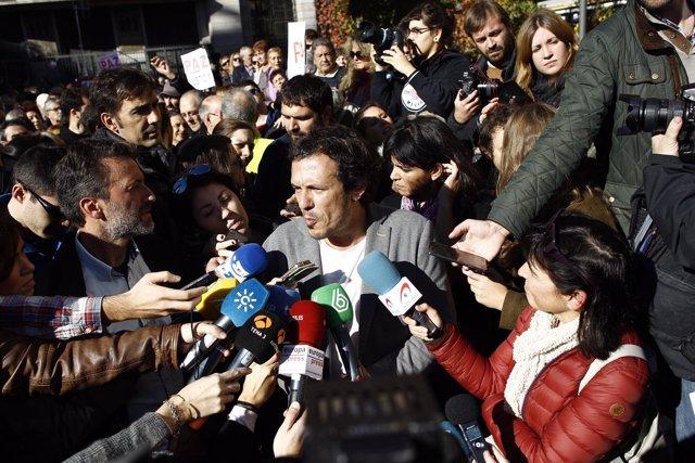 Manifestación 'No en nuestro nombre', José María González, Kichi
