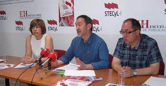 Rueda de prensa del sindicato Stecyl