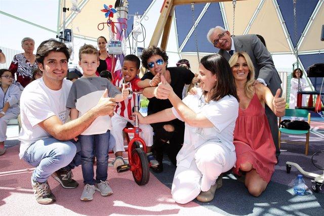 Carlos Sainz financia los ocho primeros 'kiciclos'