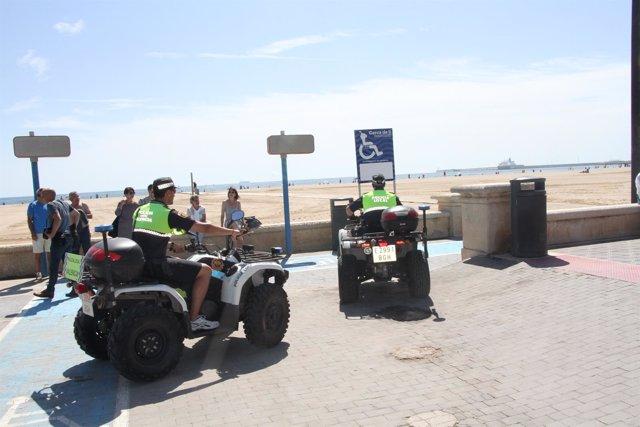 Campaña de playas de Seguridad Ciudadana