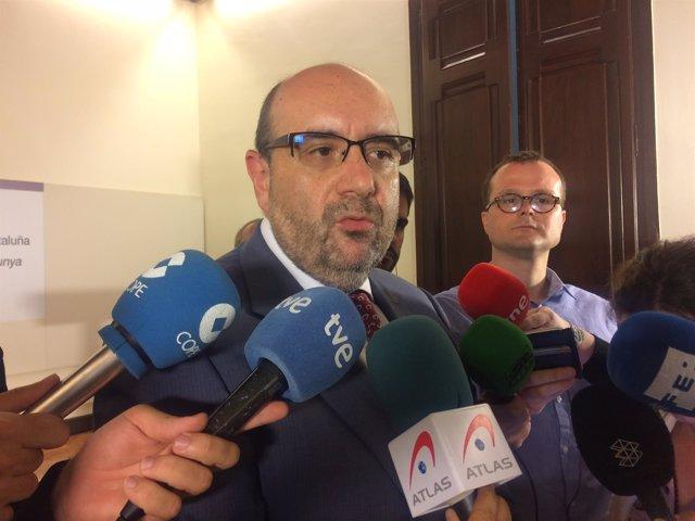 Miguel Borra, presidente del sindicato de funcionarios Csif