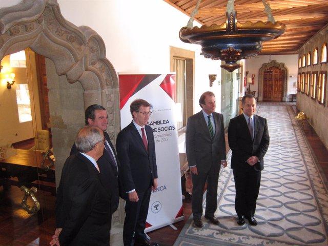 Feijóo y Víctor Nogueira en asamblea Asociación de Empresa Familiar