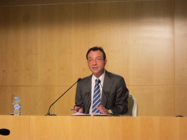 Manuel Cobo En Rueda De Prensa Tras La Junta De Gobierno