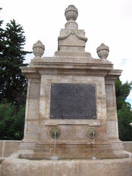 Fuente de los Incrédulos, Zaragoza