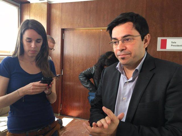 El alcalde accidental de Barcelona Gerardo Pisarello