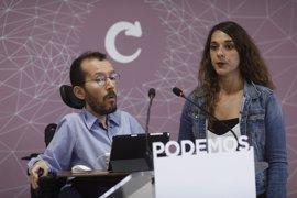 Podemos anuncia que está dispuesto a retirar su moción de censura si el PSOE registra otra
