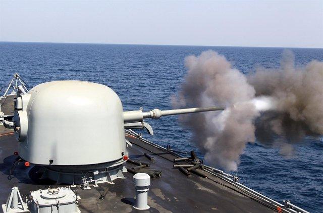 Barco de guerra de Arabia Saudí