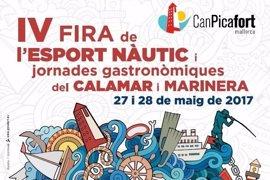 Can Picafort acoge este fin de semana una feria sobre el deporte náutico y el calamar